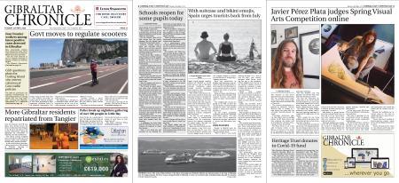Gibraltar Chronicle – 26 May 2020