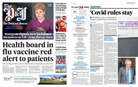 The Press and Journal Aberdeen – September 22, 2020