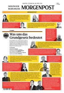 Solinger Morgenpost – 27. April 2019
