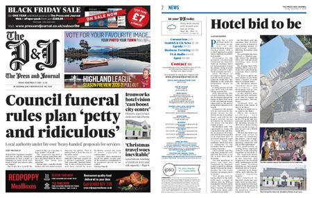 The Press and Journal North East – November 27, 2020