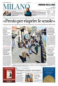 Corriere della Sera Milano – 29 febbraio 2020