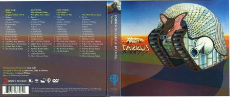 Emerson, Lake & Palmer - Tarkus (1971) [2012, 2CD + DVD Deluxe edition] Repost