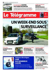 Le Télégramme Ouest Cornouaille – 03 avril 2021