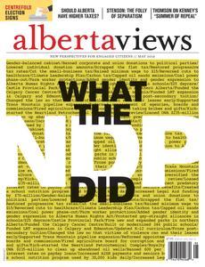Alberta Views Magazine – May 2019