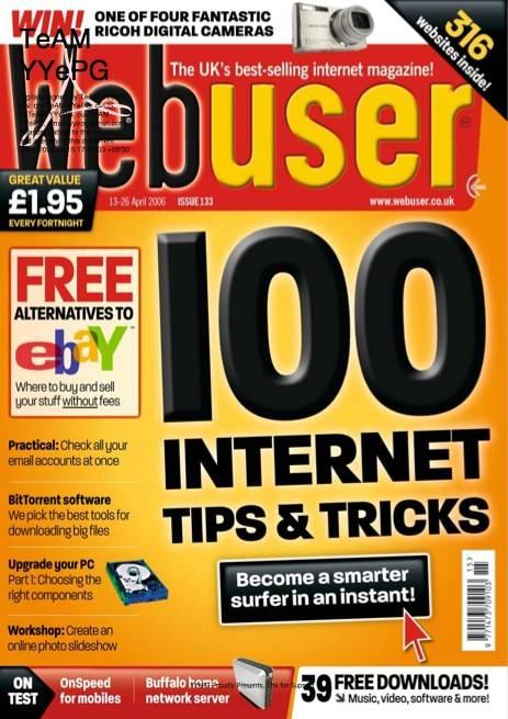 Webuser Magazine - April 13 2006