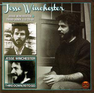 Jesse Winchester - Jesse Winchester (1970) & Third Down, 110 To Go (1972) {Edsel Records EDSS 1073 rel 2012}
