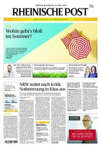 Rheinische Post – 18. April 2020
