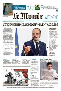 Le Monde du Samedi 30 Mai 2020