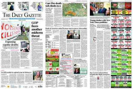 The Daily Gazette – July 30, 2018