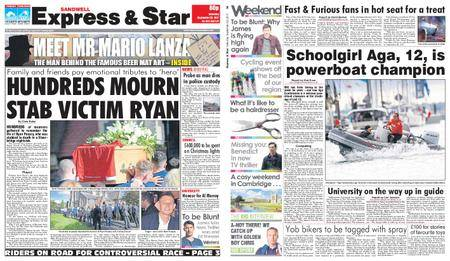 Express and Star Sandwell Edition – September 23, 2017