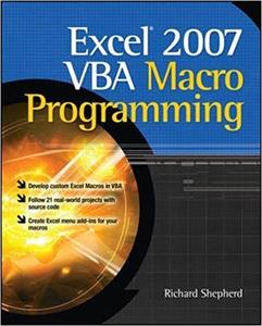 Excel 2007 VBA Macro Programming (2nd Edition)