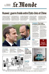 Le Monde du Mercredi 22 Mai 2019