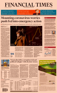 Financial Times Europe – 4 March 2020