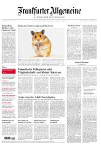 Frankfurter Allgemeine Zeitung F.A.Z. - 21. März 2019