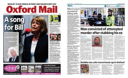 Oxford Mail – August 30, 2019