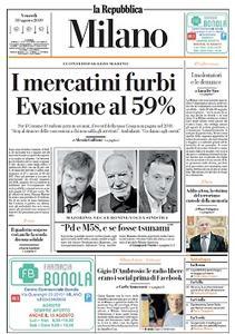 la Repubblica Milano - 30 Agosto 2019