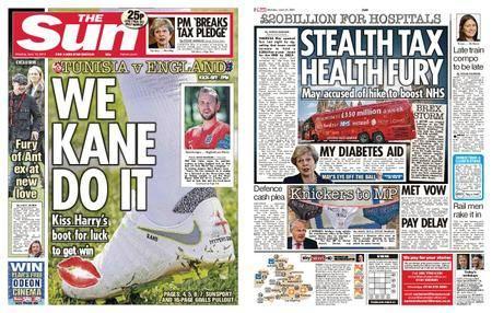 The Sun UK – 18 June 2018