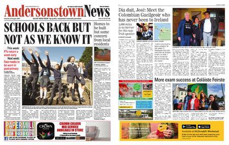 Andersonstown News – August 29, 2020