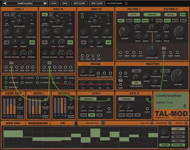 Togu Audio Line TAL-Mod v1.1.0 WiN / OSX