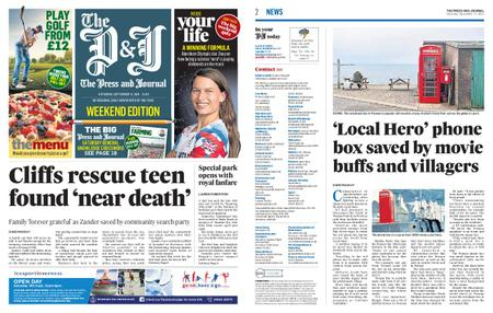 The Press and Journal Moray – September 11, 2021