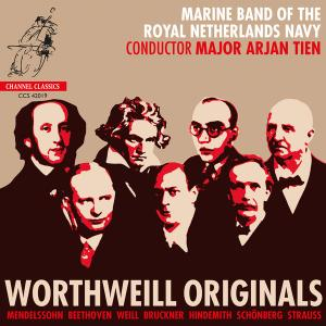 Marine Band of the Royal Netherlands Navy & Arjan Tien - WorthWeill Originals (2019) [Official Digital Download 24/96]