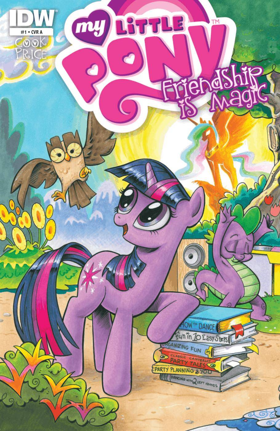 My Little Pony - Friendship Is Magic 001 2012 6 covers