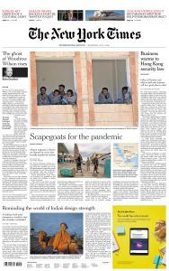 International New York Times - 1 July 2020