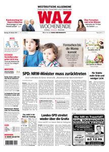 WAZ Westdeutsche Allgemeine Zeitung Oberhausen-Sterkrade - 20. Oktober 2018