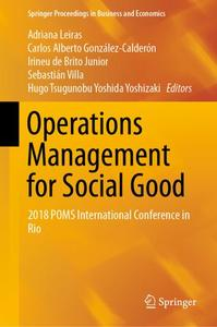 Operations Management for Social Good: 2018 POMS International Conference in Rio
