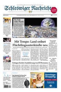 Schleswiger Nachrichten - 29. September 2018