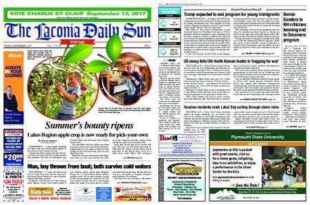 The Laconia Daily Sun – September 04, 2017