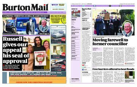 Burton Mail – November 25, 2017