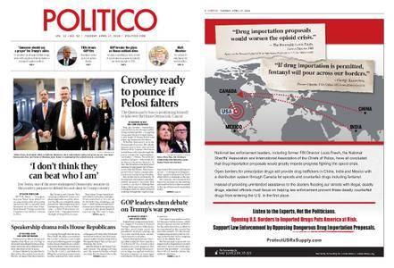 Politico – April 17, 2018