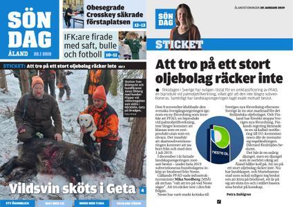 Ålandstidningen – 20 januari 2019