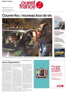 Ouest-France Édition France – 15 janvier 2021