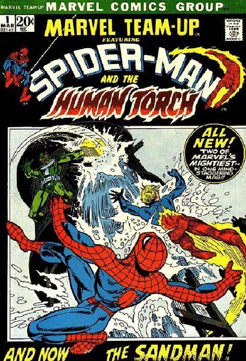 Marvel Team-Up v1 001 1972