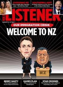 New Zealand Listener - August 21, 2021