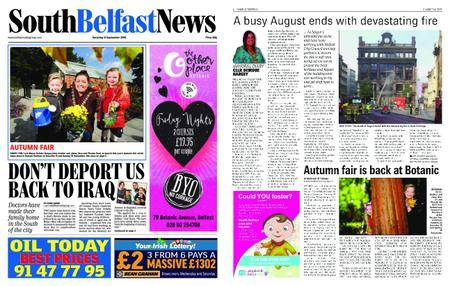 South Belfast News – September 07, 2018