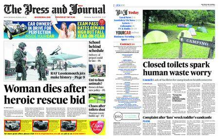 The Press and Journal Moray – August 08, 2018