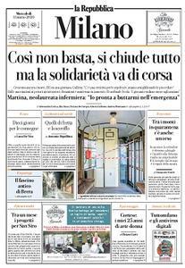 la Repubblica Milano - 11 Marzo 2020