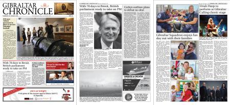 Gibraltar Chronicle – 15 August 2019