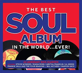 VA - The Best Soul Album In The World… Ever! (3CD, 2019)