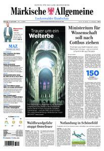 Märkische Allgemeine Luckenwalder Rundschau - 17. April 2019