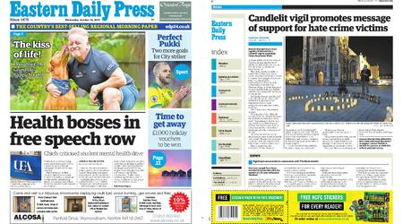 Eastern Daily Press – October 16, 2019