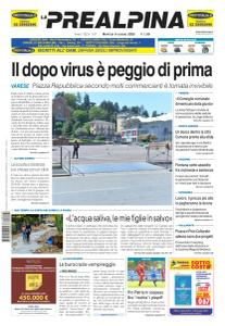 La Prealpina - 9 Giugno 2020