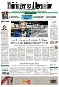 Thüringer Allgemeine Sondershausen - 29. März 2018