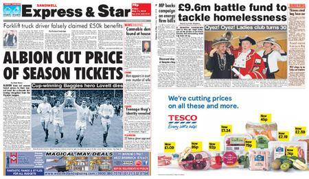 Express and Star Sandwell Edition – May 11, 2018