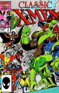 Classic X-Men 002 1986 c2c Minutemen-Bluntman