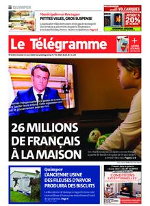 Le Télégramme Quimper – 13 mars 2020