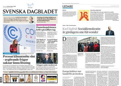 Svenska Dagbladet – 16 december 2019